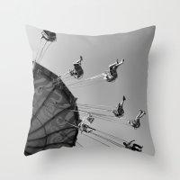 G-Force Throw Pillow
