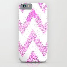 sparkly pink chevron Slim Case iPhone 6s
