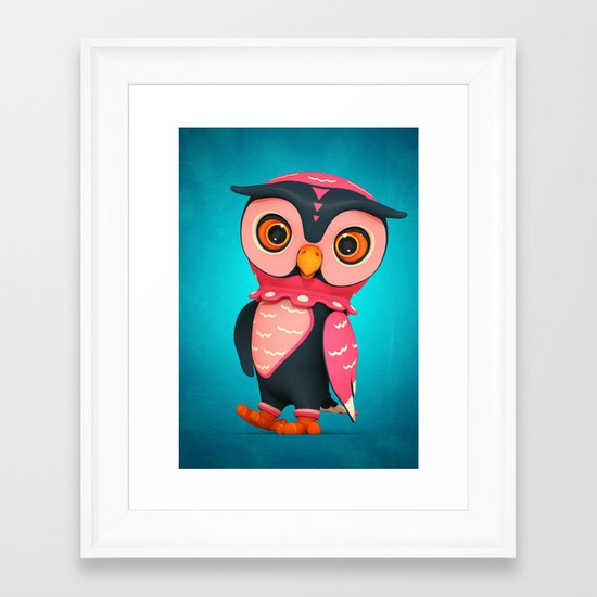 Hootley Framed Art Print