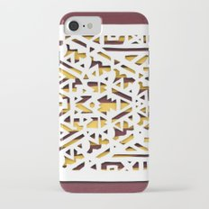 Aztec Pattern Papercut Slim Case iPhone 7