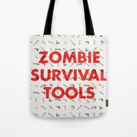 Zombie Survival Tools - Pattern 'o tools Tote Bag