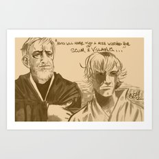 Mos Eisley Overlook Art Print