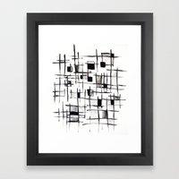 FENCES Framed Art Print