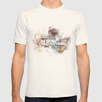 2 Corinthians 5:17 Mens Fitted Tee Natural SMALL