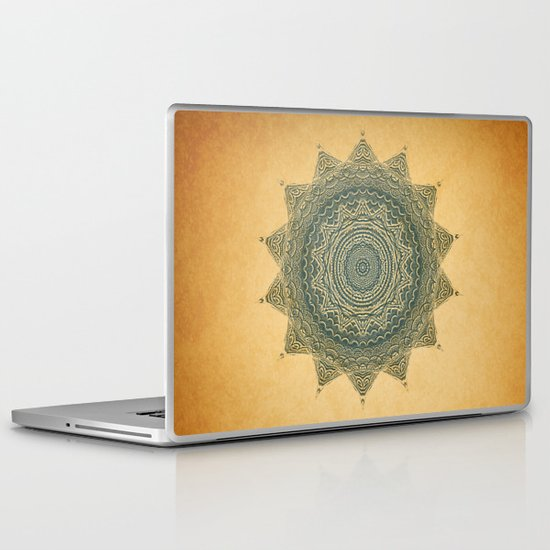Sun Symbol Laptop & iPad Skin