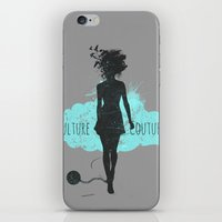 Kulture Couture iPhone & iPod Skin