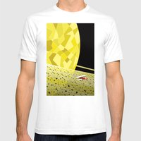 Lost In Time And Space Mens Fitted Tee White SMALL