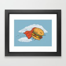 Superburger! Framed Art Print