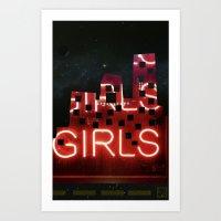 girls night ;) Art Print