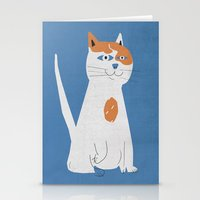 Sam the cat Stationery Cards