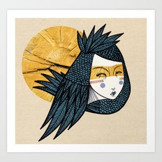 Indian bird Art Print