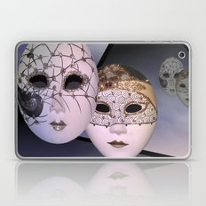 encounter with venetian masks Laptop & iPad Skin