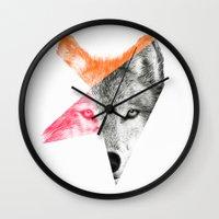 Wild By Eric Fan & Garim… Wall Clock