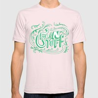 Fun Stuff Mens Fitted Tee Light Pink SMALL