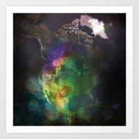 North America Art Print