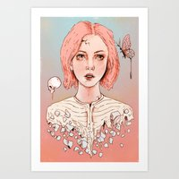 Let's Stay Here Forever Art Print