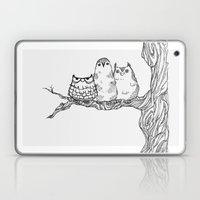 Three Owls In A Tree Laptop & iPad Skin