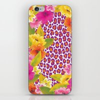 Floral Leopard  iPhone & iPod Skin