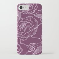 floral pattern iPhone & iPod Cases featuring Floral Pattern by Vickn