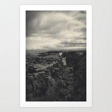 America Vs. Europe Art Print