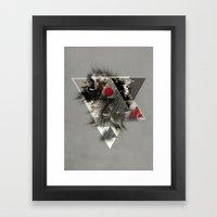 Around You Framed Art Print