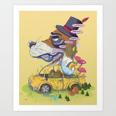 The Worn Traveler Art Print