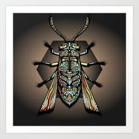 Humphery Bug Art Art Print