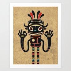 Tribe Gathering Art Print