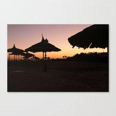 Egypt at dawn Canvas Print