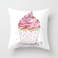 Mighty Dots Throw Pillow