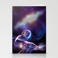 Space DJ. ver2  Stationery Cards