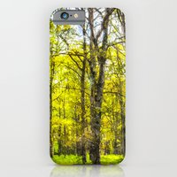 Peace In The Forest Watercolour  iPhone 6 Slim Case