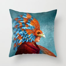 Free-Spirited Throw Pillow