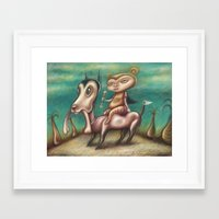 The Bone Collectors Framed Art Print