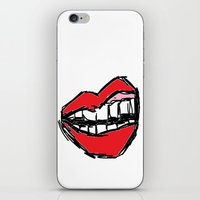 Rough sketch of Lips. iPhone & iPod Skin