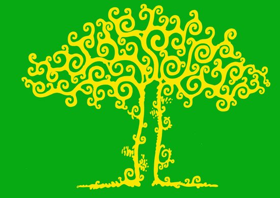 Branches Of Light Art Print