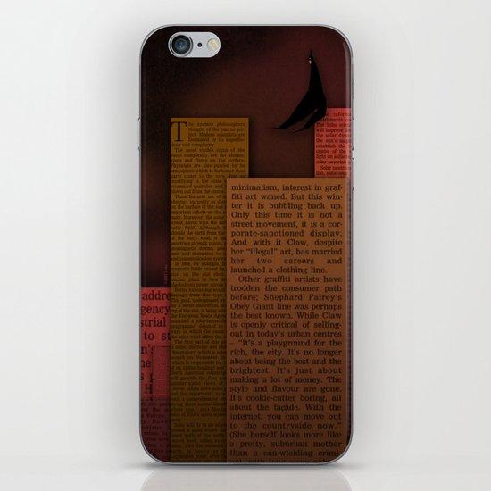 PAPER HEROES - Gotham iPhone & iPod Skin