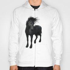 Gothic Friesian Horse Hoody
