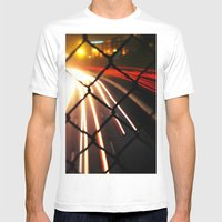 Streaming Light Mens Fitted Tee White SMALL