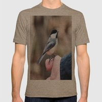 lets feed the birds Mens Fitted Tee Tri-Coffee SMALL