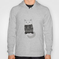 Cat With Pattern  Hoody
