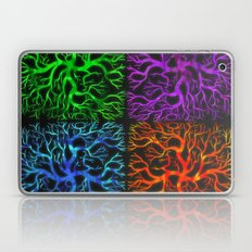 Tree Pattern 4 Square Laptop & iPad Skin