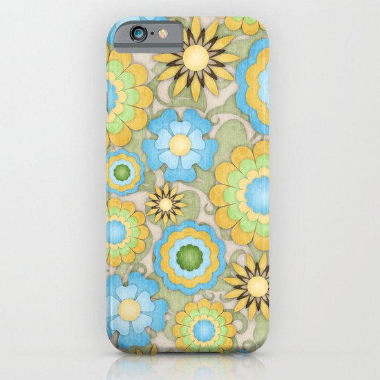 English Country Floral iPhone & iPod Case