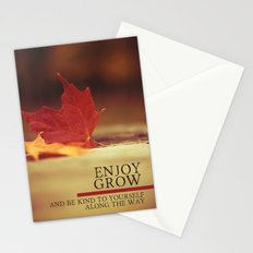 growth. Stationery Cards