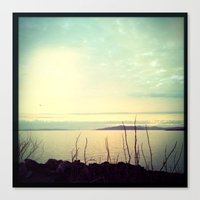 Distant Golden Gate Brid… Canvas Print