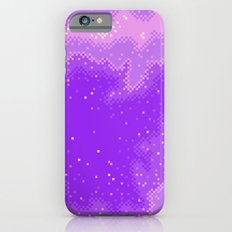 Purple Nebula (8bit) Slim Case iPhone 6s