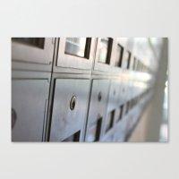 Mailtime Canvas Print