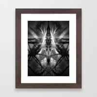 Between the End and Eden Framed Art Print