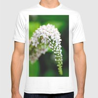 Spring Has Bloomed Mens Fitted Tee White SMALL