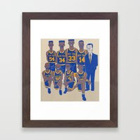 The '94 Knicks Framed Art Print